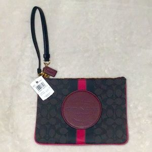 Brand New Coach Wristlet with tag